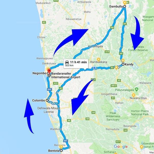Sri Lanka babymoon itinerary 1